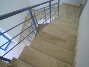 Foto de acabado de escalera