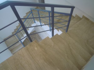 Foto acabado escalera