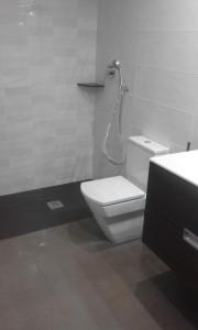 Terminación de baño