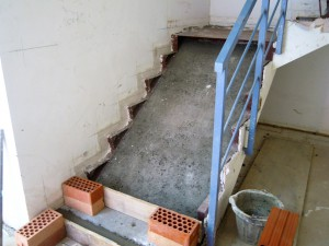 Replanteo escalera