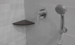 Grifería colocada en la reforma de un cuarto de baño en Barcelona